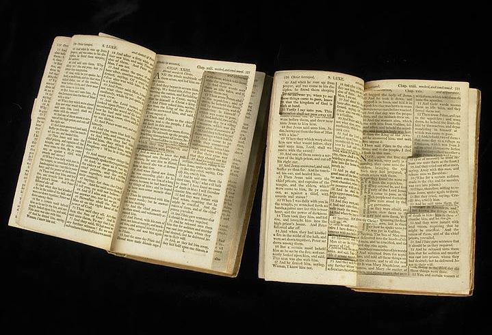 jefferson-bible-clippings