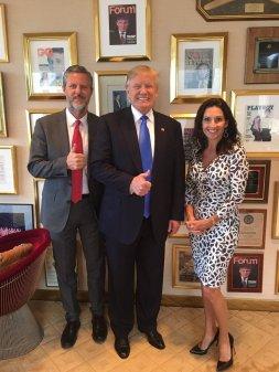 Falwell and Trump