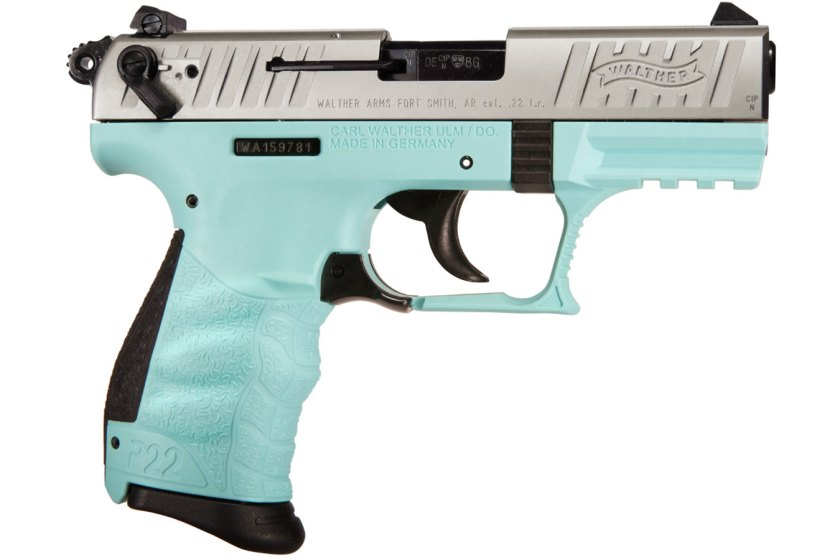 Teal gun