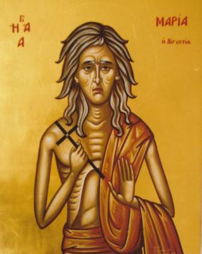 Image result for st mary of egypt in iconography