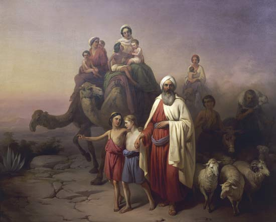 March of Abraham by Jozsef Molnar