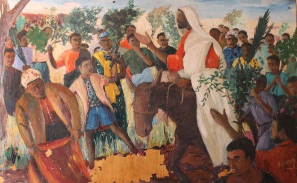 Image result for black jesus in art