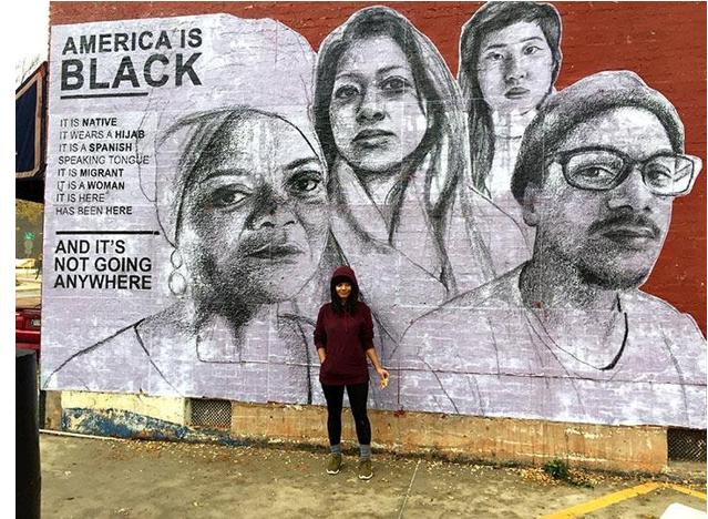 america is black